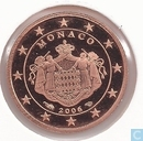 Munten - Monaco - Monaco 1 cent 2006 (PROOF)