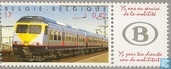 Postage Stamps - Belgium [BEL] - Trains