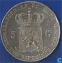 Netherlands 3 gulden 1832/22
