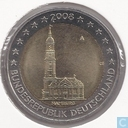 "Duitsland 2 euro 2008 (A) ""St. Michaelis Church Hamburg"""