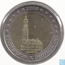 "Allemagne 2 euro 2008 (J) ""St. Michaelis Church Hambourg"""