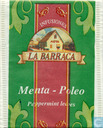 Tea bags and Tea labels - La Barraca - Menta-Poleo