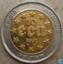 "Belgique 10 ecu 1991 (BE) ""40th Anniversary of Baudouin I reign"""