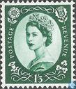 Postage Stamps - Great Britain [GBR] - Queen Elizabeth II (Wilding)-Phosphorus