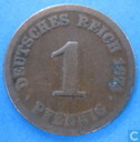 Empire allemand 1 pfennig 1874 (G)