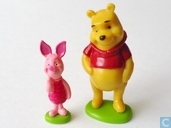 Piglet and Winnie the Pooh