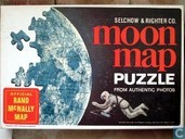 Moon map puzzle