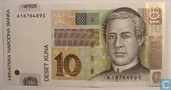Banknotes - Croatia - 2001-2012 Issue - Croatia 10 Kuna 2001