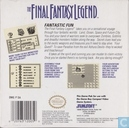Jeux vidéos - Nintendo Game Boy - The Final Fantasy Legend