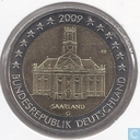"Coins - Germany - Germany 2 euro 2009 (G) ""Ludwigskirche in Saarbrücken - Saarland"""