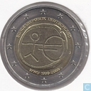 "Coins - Germany - Germany 2 euro 2009 (J) ""10th Anniversary of the European Monetary Union"""