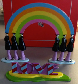 "The Beatles - ""Rainbow Love"" - Yellow Submarine Series - Pixi Paris - 2008"