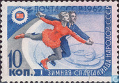 1 winter sports games children Soviet peoples