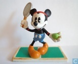 Mickey as tennis player