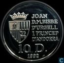 "Andorre 10 diners 1992 (PROOF) ""Discovery of the new world"""