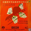 Shostakovitch: Sonata in d minor for cello and piano, opus 40