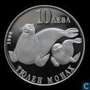 "Bulgarije 10 leva 1999 (PROOF) ""Wildlife - Zeehonden"""