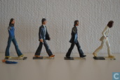 The Beatles-Abbey Road figurines
