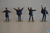 The Beatles - Help figurines