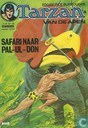 Bandes dessinées - Tarzan - De safari naar Pal-ul-don