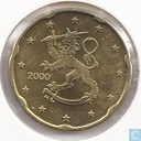 Finland 20 cent  2000