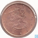 Finland 2 cent 2000