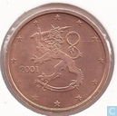 Finland 2 cent 2001