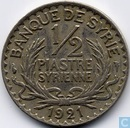 Syrie ½ piastre 1921