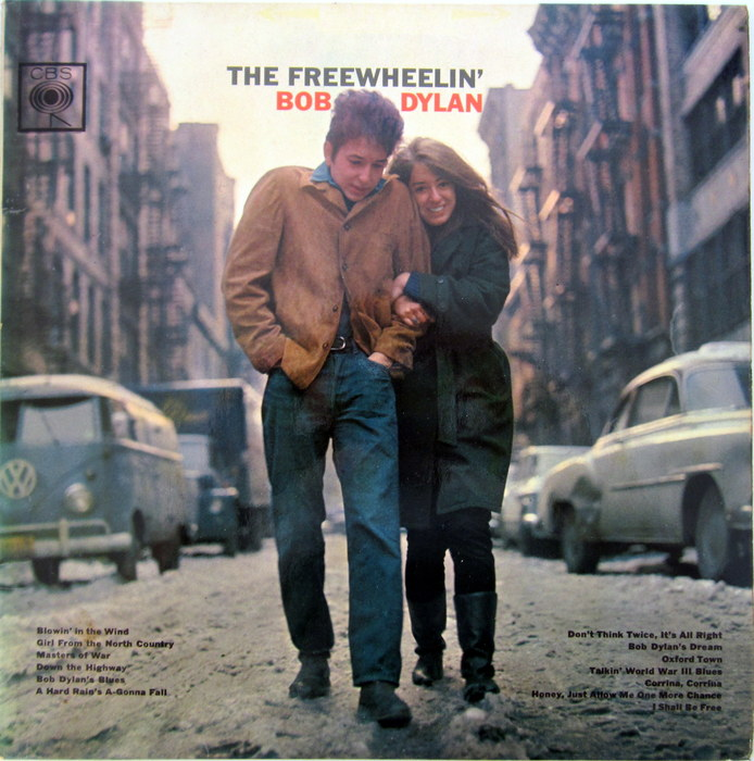 Bob Dylan - LP The Freewheelin' Bob Dylan (CBS BPG 62193 - UK, 1963, mono)