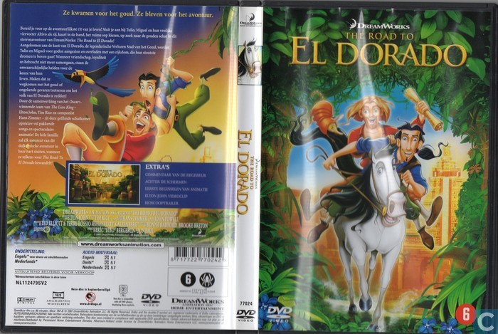 The Road To El Dorado Dvd Catawiki