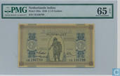 Dutch India 2 ½ gulden 1940 banknote unc