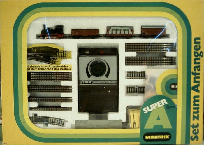 Minitrix N - 51 1036 - freight train starter set.