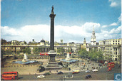 Trafalgar Square And Nelsons Column.