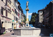 Fortuna-fountain, Obertor, Winterthur