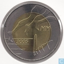 "Coins - Finland - Finland 5 euro 2005 ""10th Anniversary - IAAF World Championships in Athletics"""