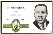 In memoriam Martin Luther King 1929 - 1968