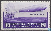 "Airship flight of the ""Graf Zeppelin"""