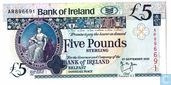 Northern Ireland 5 pound 2000
