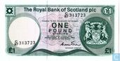 Scotland 1 Pound Sterling 1984
