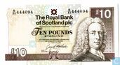 Scotland 10 Pound Sterling 1993