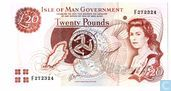 Isle of Man 20 pounds 1983