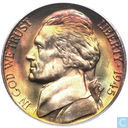 United States 5 cents 1945 P
