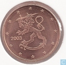Coins - Finland - Finland 1 cent 2003