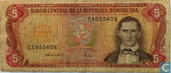 Dominican Republic 5 Pesos Oro