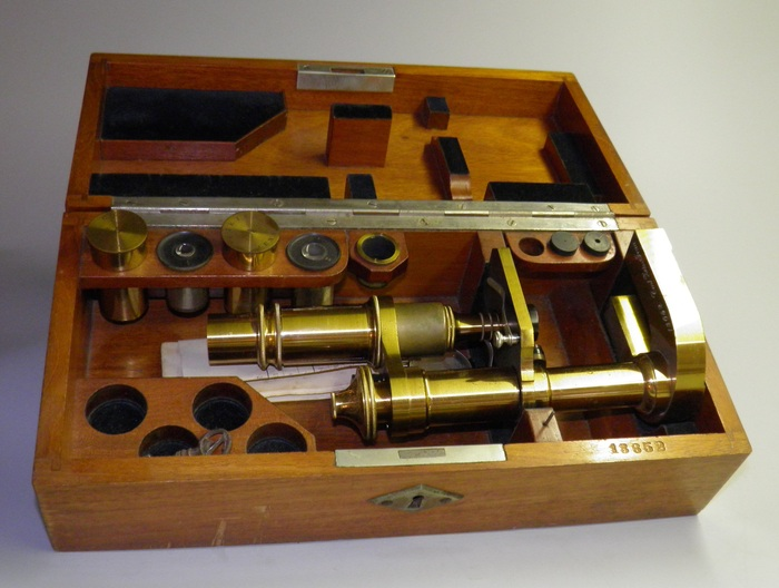 Antique microscope carl zeiss jena ca  catawiki