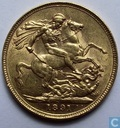 United Kingdom Sovereign 1891