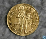 Holland dukaat 1780 (gold)