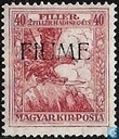 War Victims, with overprint