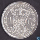 Coins - the Netherlands - Netherlands 1 gulden 1917