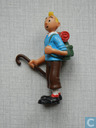 Tintin with walking stick (Miscellaneous 2)